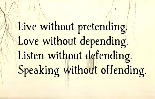 """Love quotes: """"Love Without Pretending"""" www.mytributejournal.com"""