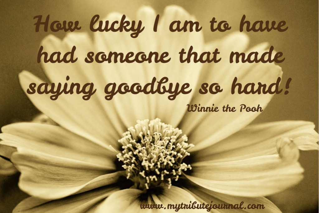 """""""Thoughts On Motherhood!"""" Winnie The Pooh quote www.mytributejournal.com"""