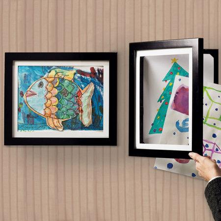 Fun Ways To Display Children's Artwork! www.mytributejournal.com