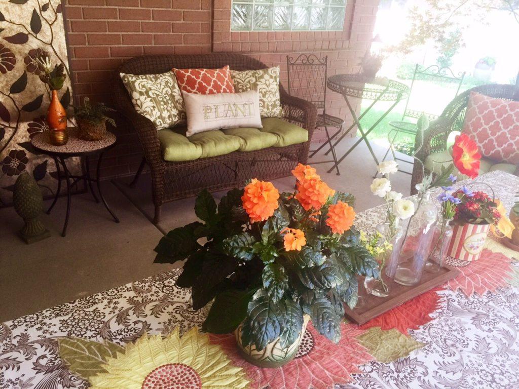 Patio decor! www.mytributejournal.com