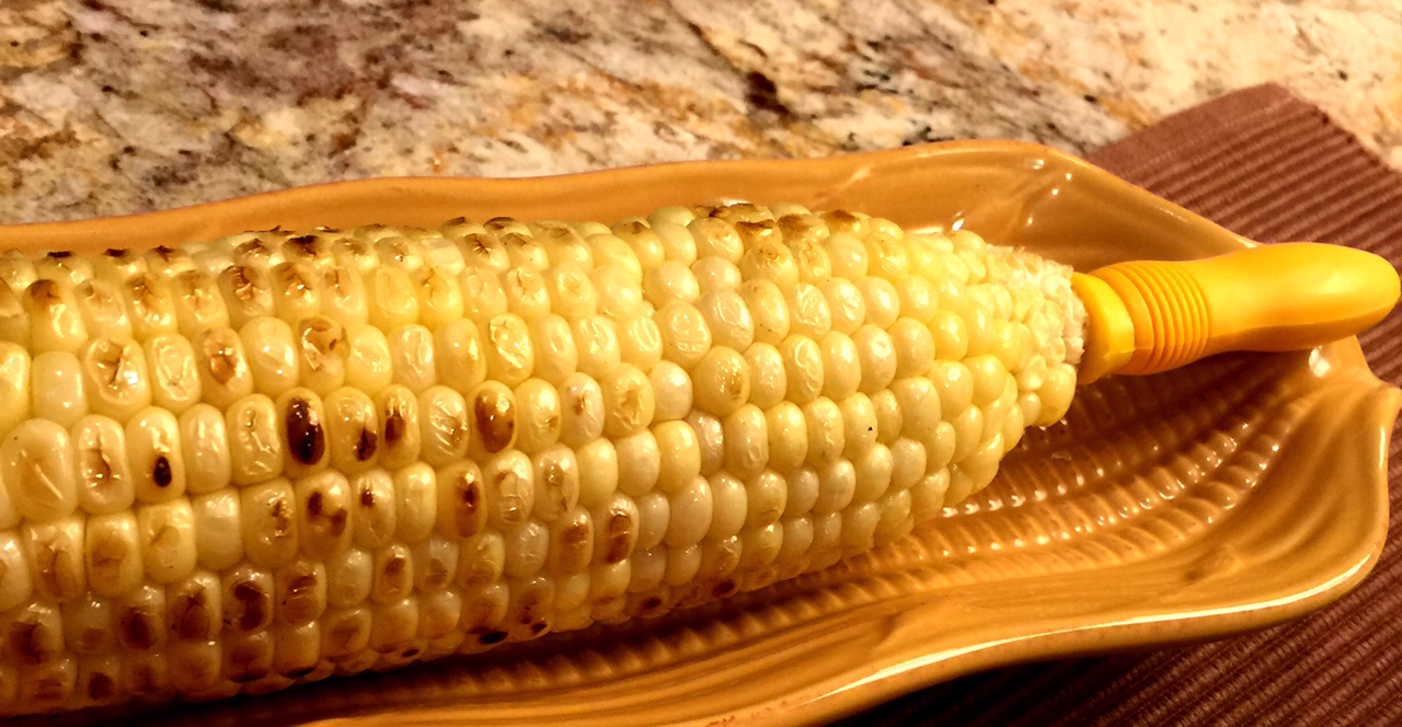 Grilled corn www.mytributejournal.com