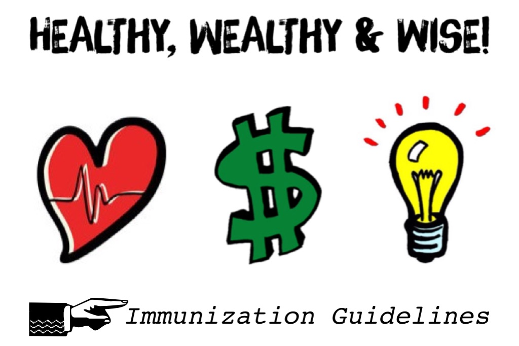 Healthy, Wealthy And Wise! Immunization Guidelines! www.mytributejournal.com