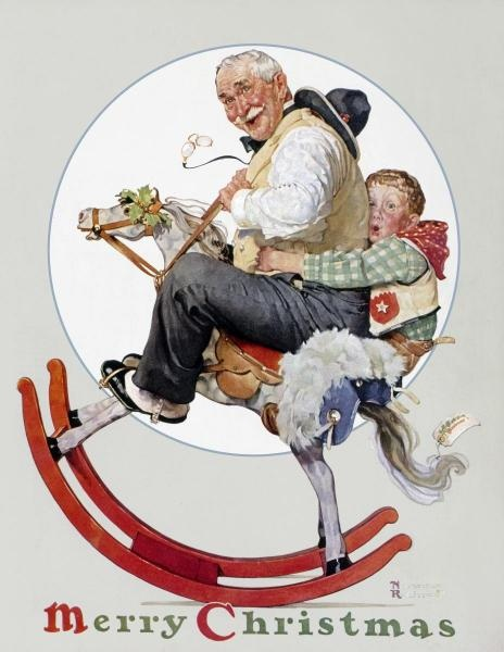 A Norman Rockwell Christmas!