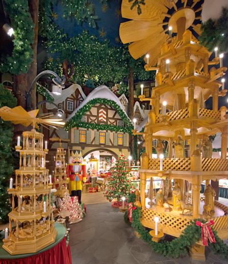 Christmas village in Rotenburg, Germany