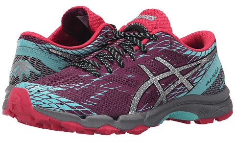 Acics running shoes.