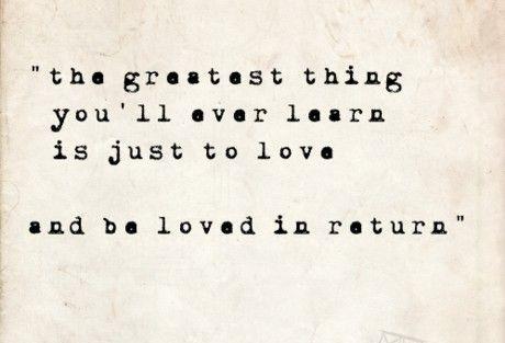 Love quote.