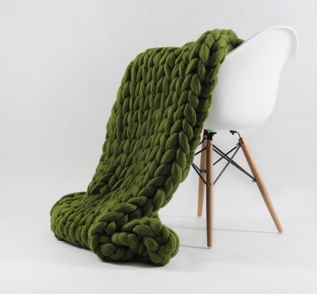 Ohhio knit blankets.