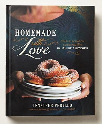 """""""Homemade with Love"""" cookbook by Jennifer Perillo"""