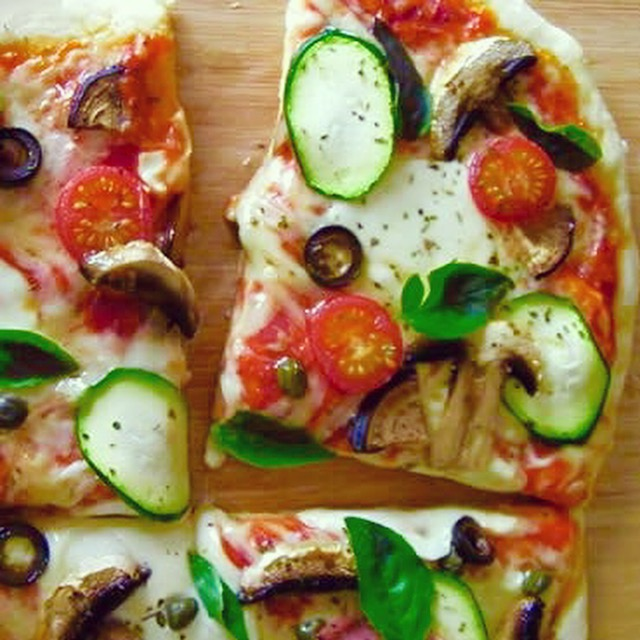 Homemade With Love! Roasted Vegetable Pizza!