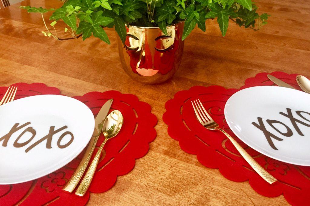 XOXO Plates for blog entry