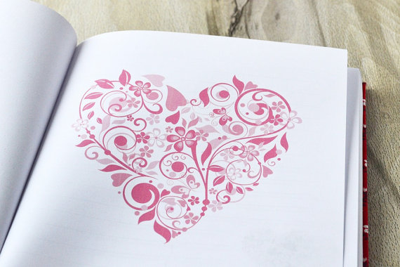 Valentine's Words of Wisdom book.
