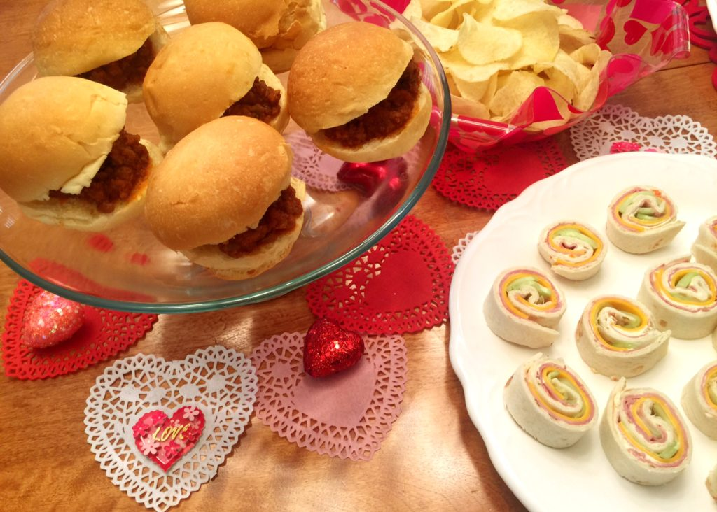 American Girl Party book food.
