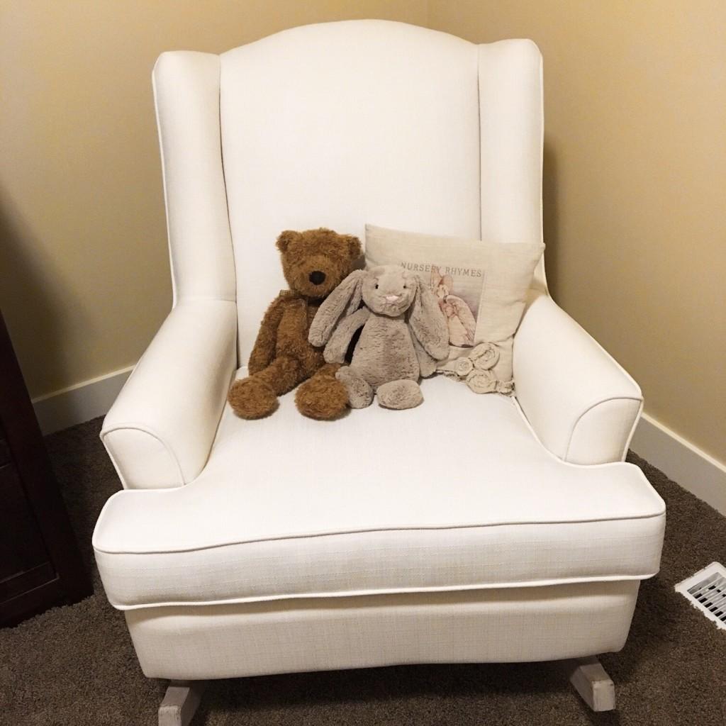 Babinski nursery rocking chair.