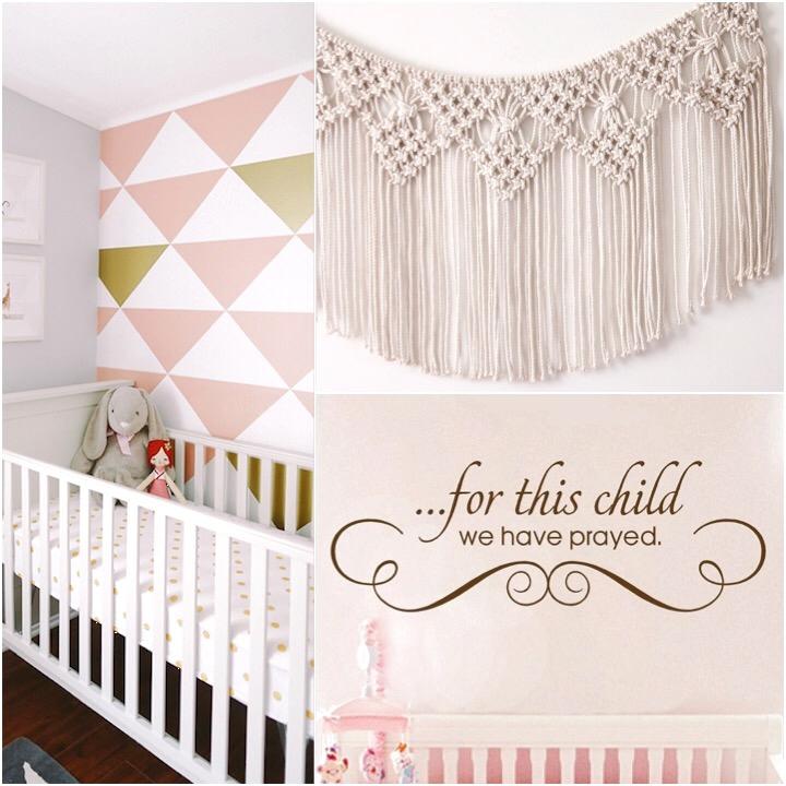 Stylish and safe nursery design.