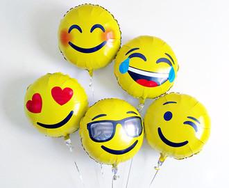 Emoji balloons!
