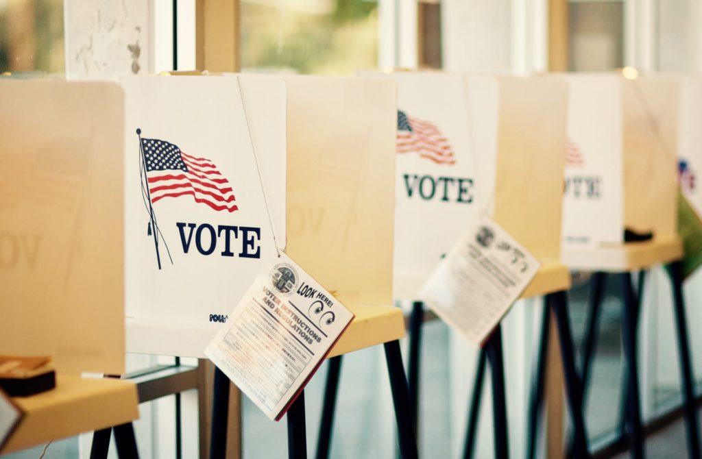Voting is a patriotic privilege.