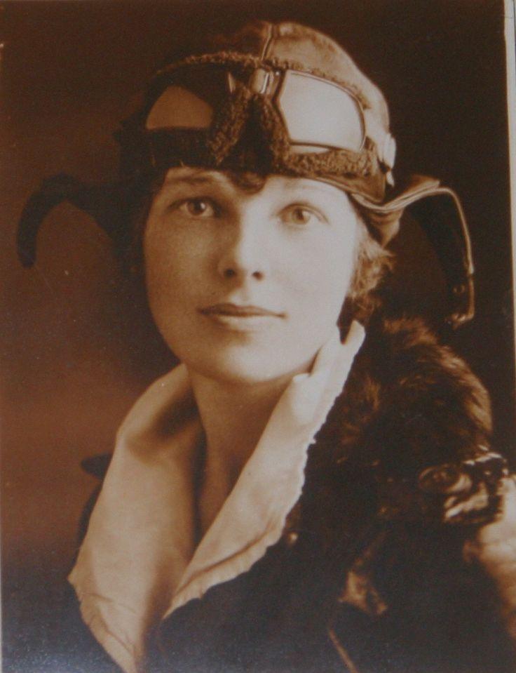 The Adventurous Spirt of Amelia Earhart!