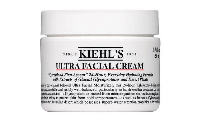 Kiehl's ultra facial cream.
