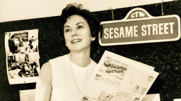 Joan Ganz Cooney: Co-founder of Sesame Street.