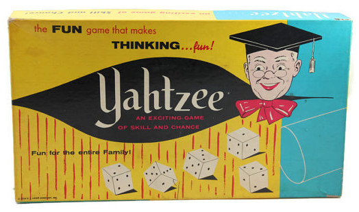 Yahtzee! Games older kids lover to play.