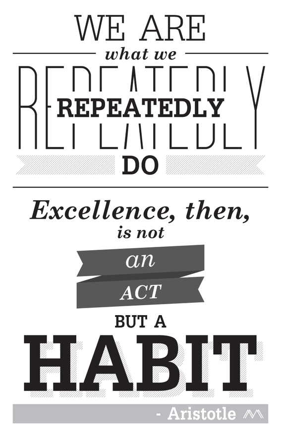 Life Lessons Learned. Aristotle quote.