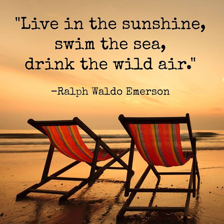 Emerson's summer quote.