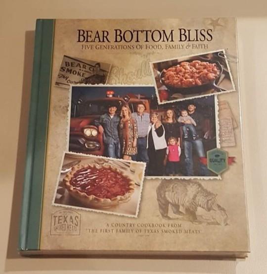 Bear Bottom Bliss Cookbook.