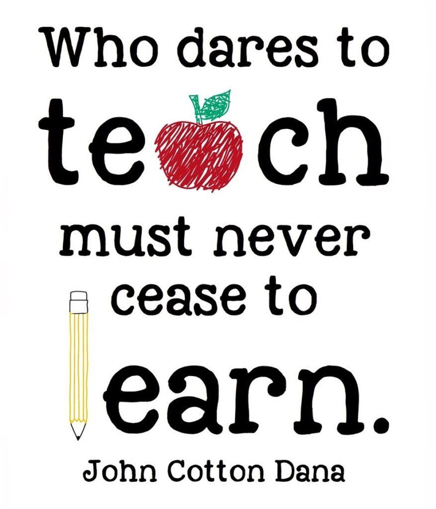A Tribute Teachers!