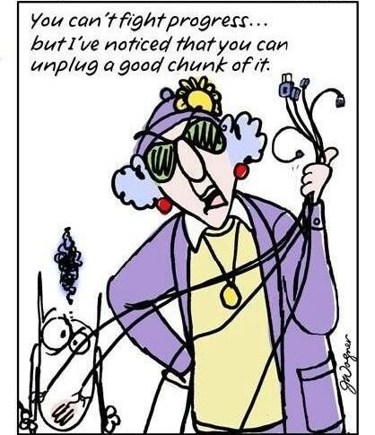 Maxine computer cartoon.