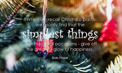 Christmas happiness.