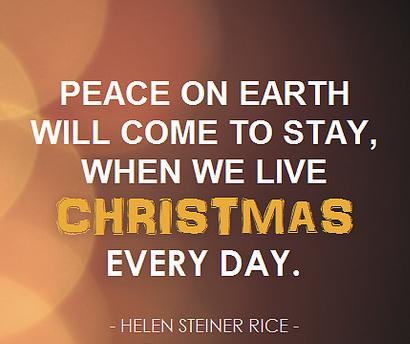 Christmas all year long.